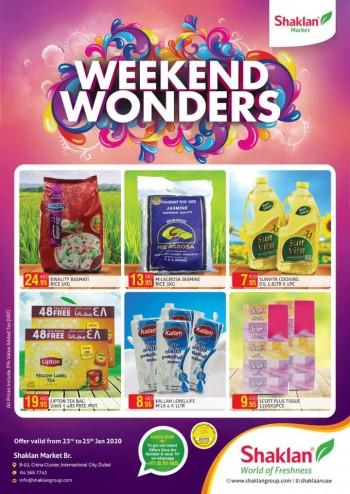 Shaklan Market Shaklan Market Weekend Wonders Offers