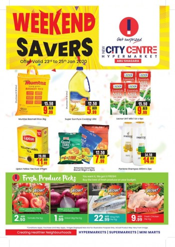 City Centre Supermarket New City Centre Hypermarket Weekend Savers