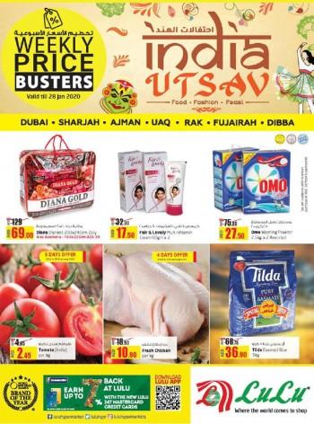 Lulu Lulu Hypermarket Weekly Price Busters Offers