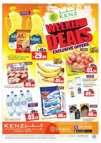 Kenz Kenz Hypermarket Weekend Exclusive Offers