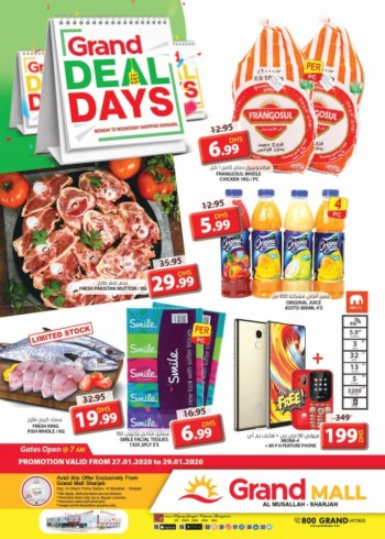 Grand Hypermarket Grand Mall Midweek Grand Days Offers