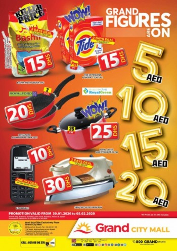 Grand Hypermarket Grand City Mall Grand Figures Offers