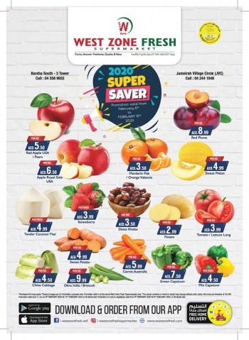 West Zone Fresh Supermarket West Zone Fresh Supermarket Weekend Super Saver