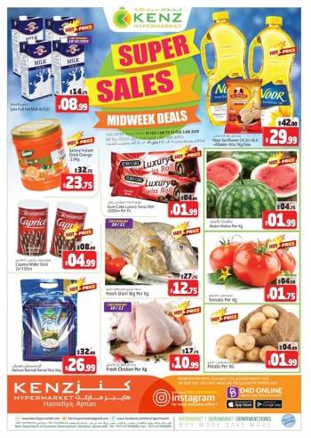 Kenz Kenz Hypermarket Midweek Super Sale