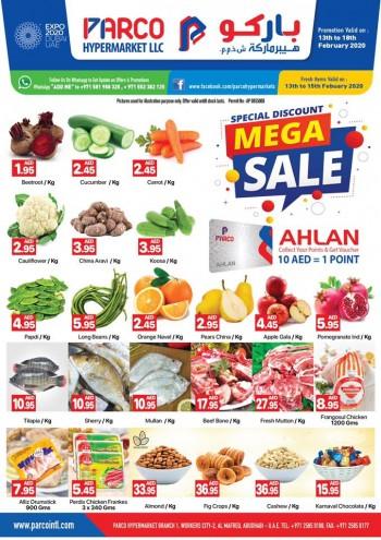 PARCO Hypermarket PARCO Hypermarket Al Mafraq Mega Sale