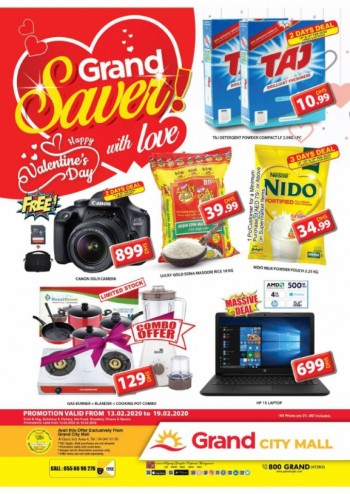 Grand Hypermarket Grand City Mall Grand Saver Offers