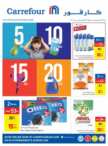 Carrefour Carrefour AED 5,10,15,20 Offers