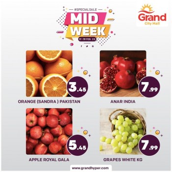 Grand Hypermarket Grand City Mall Mid Week Offers