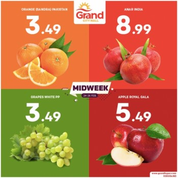 Grand City Mall Midweek Offers
