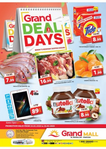 Grand Mall Grand Midweek Offers