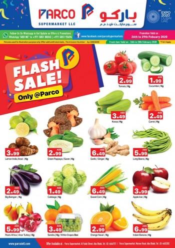 PARCO Hypermarket Parco Supermarkets Abu Dhabi Flash Sale