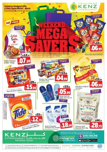 Kenz Kenz Hypermarket Weekend Mega Savers