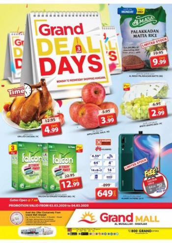 Grand Hypermarket Grand Mall Midweek Offers