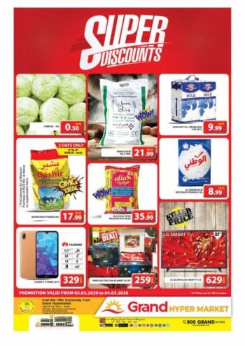 Grand Hypermarket Grand Hypermarket Midweek Super Discounts