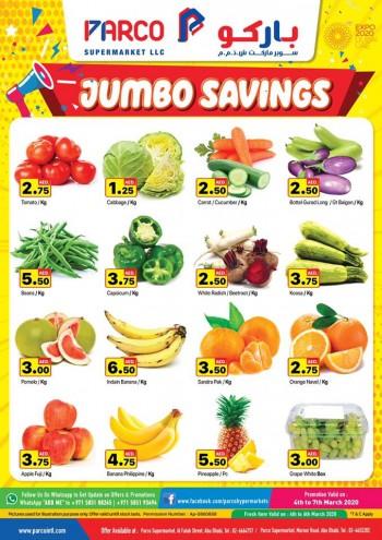 PARCO Hypermarket Parco Supermarkets Abu Dhabi Jumbo Savings