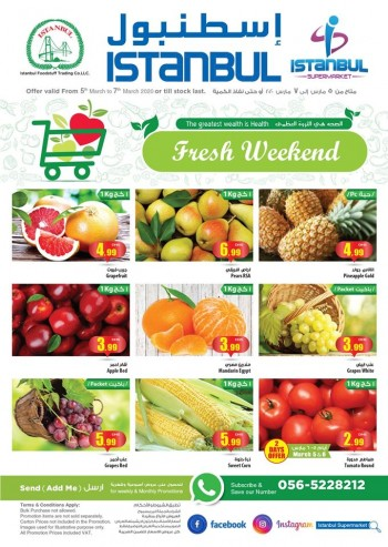 Istanbul Supermarket Istanbul Supermarket Great Fresh Weekend Offers