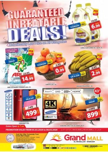 Grand Hypermarket Grand Mall Guaranteed Unbeatable Deals