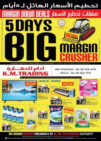 K M Trading KM Trading Sharjah Big Margin Crusher Offers
