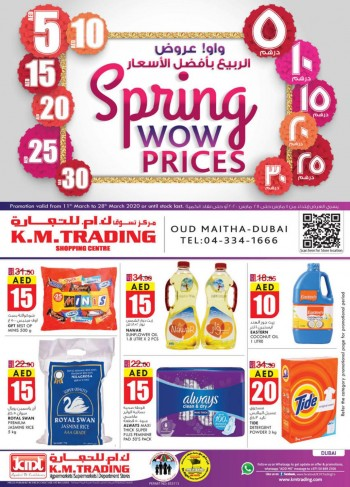K M Trading KM Trading Dubai Spring Wow Prices