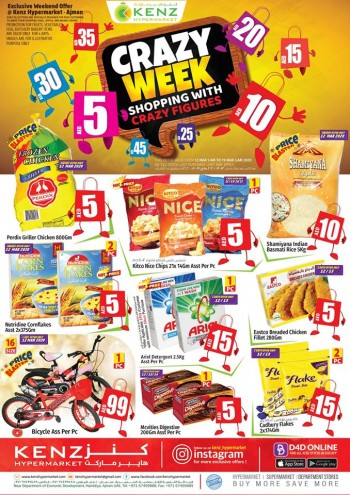 Kenz Kenz Hypermarket Crazy Week Offers