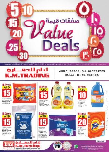 K M Trading KM Trading Sharjah March Value Deals