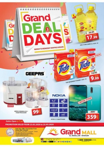 Grand Hypermarket Grand Mall Midweek Deals Days Offers