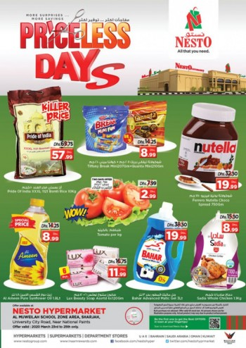 Nesto Nesto Muweillah Priceless Days Offers