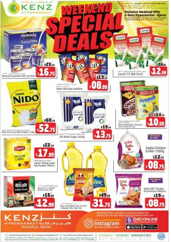 Kenz Kenz Hypermarket Weekend Special Deals