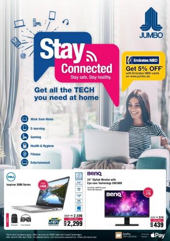 Jumbo Electronics Jumbo Electronics Stay Connected Offers