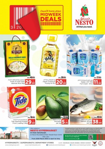 Nesto Nesto Al Arab Mall Midweek Deals