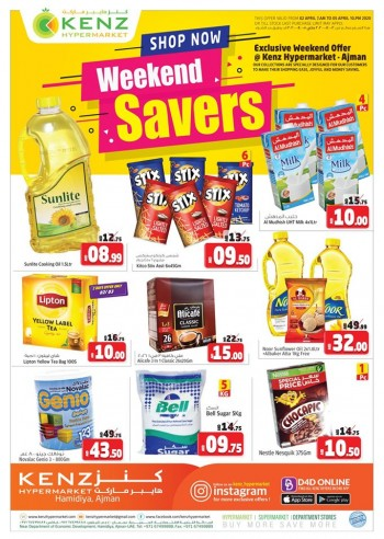 Kenz Kenz Hypermarket Weekend Saver Offers