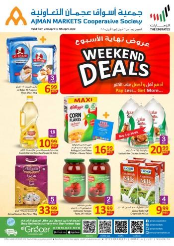 Ajman Markets Co-op Society Ajman Markets Co-op Society Weekend Offers