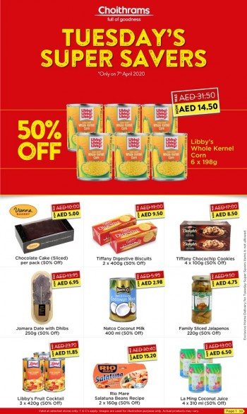 Choithrams Choithrams Tuesday Super Savers Offers